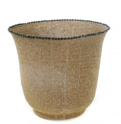 Beaded Bowl High - Or - L