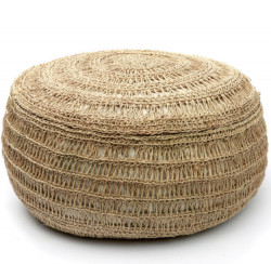 Pouf Seagrass - Naturel - M