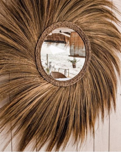 The Simba Mirror - Natural - L