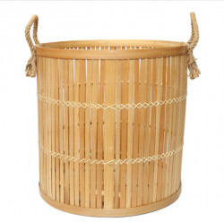 The Bamboo Baskets - Natural - Large