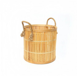 The Bamboo Baskets - Natural - Small