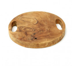 The Teak Root Tray - Natural - S