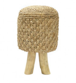 The Raffia Tressed Stool