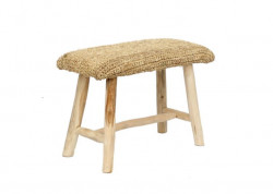 The Raffia Bench - 60