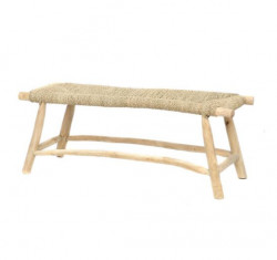 The Porto Seagrass Bench - Natural - L