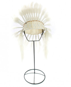 Coiffe The Indian Headdress - Blanc