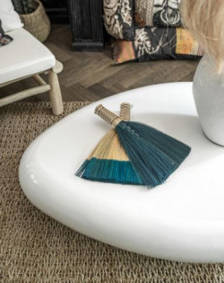 The Sweeping Brush - Natural Turquoise