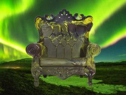Fauteuil Queen loves nature